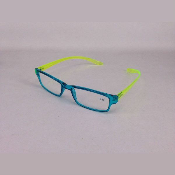 Reading Glasses in Blue Yellow