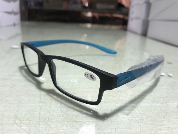 blue reading glasses